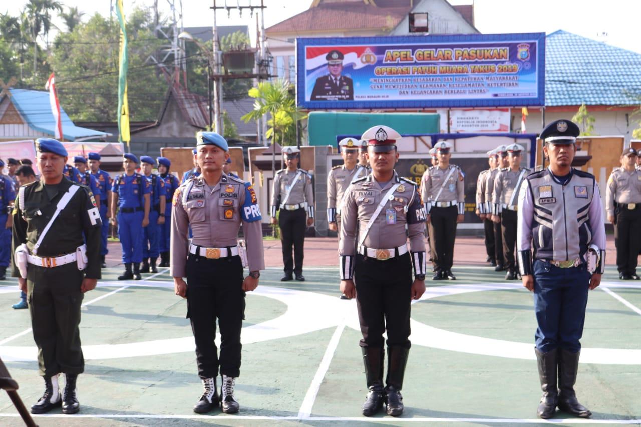 Pengendara siap-siap,mulai hari ini Polisi Ops Patuh Muara Takus di Tembilahan