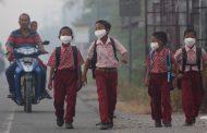 Udara tak Sehat, Sekolah di Pekanbaru Diizinkan Liburkan Murid