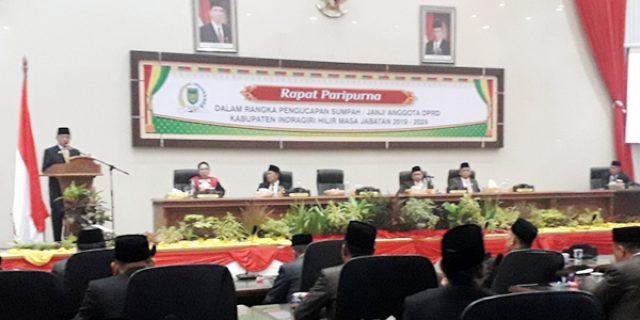 45 Anggota DPRD Inhil Diambil Sumpah