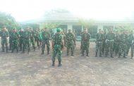 Pelantikan Presiden dan wakil Presiden RI, Kodim 0314/Inhil menyiapkan satu SSK Pasukan untuk membantu POLRI dalam pengamanan di wilayah Kabupaten Inhil