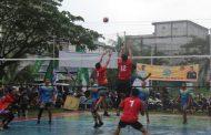Memasuki babak 8 besar Open Turnamen volley Ball Putra Dandim Cup III tahun 2019