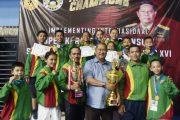 Wabup H.Syamsuddin Uti: Tim Karate TKC Inhil Patut di Baggakan Berhasil Menjadi Juara Umum 3 Internasional Championship SBY Cup Ke-16