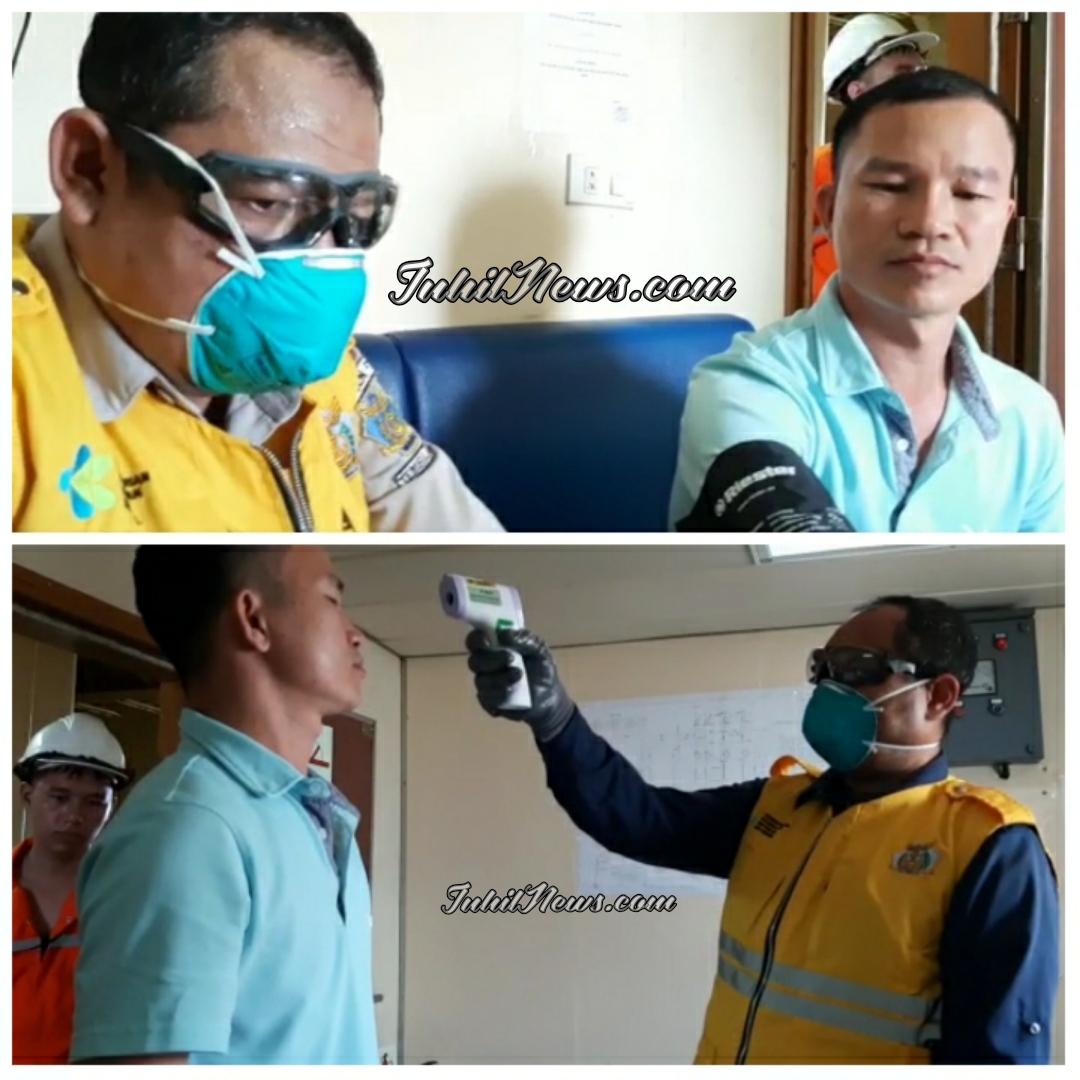 Garda Terdepan, KKP Kelas III Tembilahan Siap Cegah Tangkal Virus Corona di Inhil