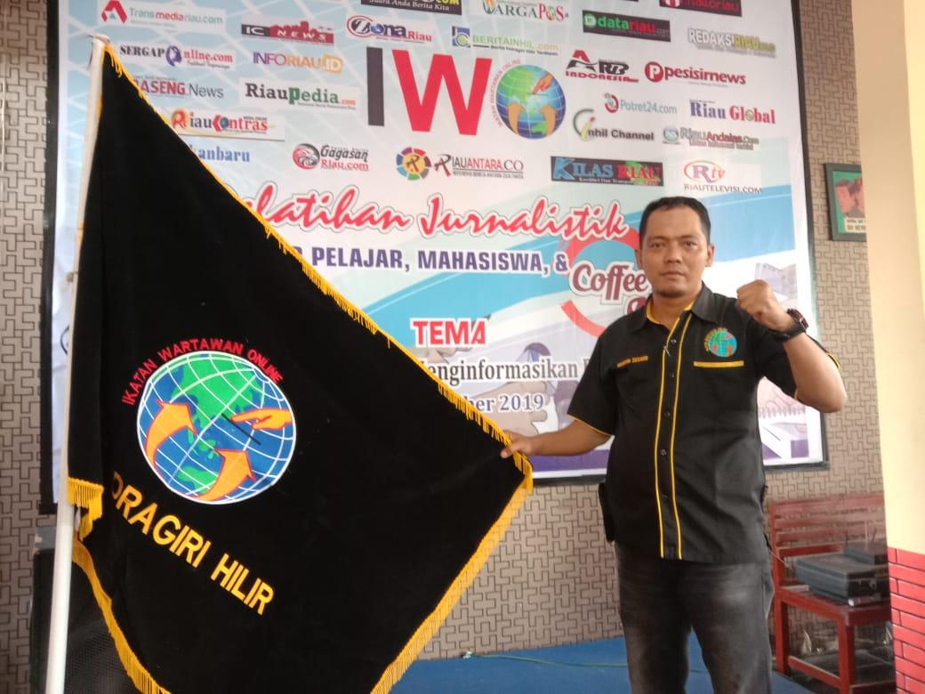 Ketua IWO Inhil Menyayangkan Sikap Arogan Oknum Petugas Lapas Kelas II A Tembilahan Kepada Wartawan