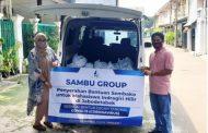 *SAMBU Group Bagikan Sembako untuk Mahasiswa Indragiri Hilir di Jabodetabek*