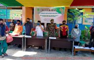 *Pemdes Pulau Palas Salurkan Paket Sembako ke - 400 Kepala Keluarga*
