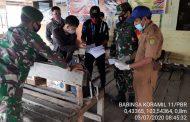*Babinsa Koramil 11 Pulau Burung melaksanakan pengecekan Surat Kesehatan hari ini di dua pelabuhan penumpang*
