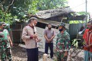 Rumah milik bapak Edi yang berada di RT 01 RW 06 Jalan SKB, Kelurahan Sungai Beringin akan dilakukan pembedahan