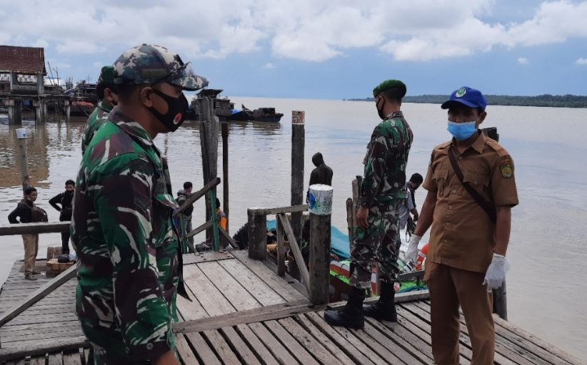 Dua Pelabuhan Penumpang Pulau Burung Hari ini Target Pemeriksaan Tim Gugus Tugas Koramil 11 Pulau Burung