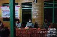 *Sampai tengah malam Babinsa Desa Kelapa Patih Jaya SP-9 Kec.Teluk Balengkong Serda Lendi Fiter Sirimba melaksanakan rapat RKPD tahun anggaran 2021*