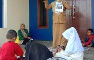 Pembelajaran Luring Kelas Guru kunjung SDN 002 Pulau Palas oleh Mursidah, S.Pd.I