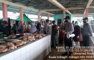 Kapolsek Kuindra Pimpin Edukasi Protokol Kesehatan Kepada Warga dengan bahasa tempatan