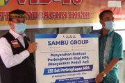 Beri Bantuan Perlengkapan Bagi MPA, Bupati Inhil Apresiasi 2 Grup Perusahaan