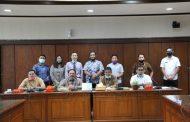 Menghadiri Rapat Koordinasi Pengendalian Inflasi Kota Tembilahan Bersama Pihak Bank Indonesia (BI) Perwakilan Provinsi Riau