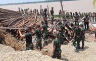 1 Peleton Bintara Muda diterjunkan dalam evakuasi Musibah Longsor