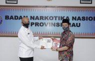 Brigjen Pol Drs. Kenedy, SH, MM berharap peran HIPMI Riau dan masyarakat riau untuk bisa bersama – sama melawan peredaran narkoba