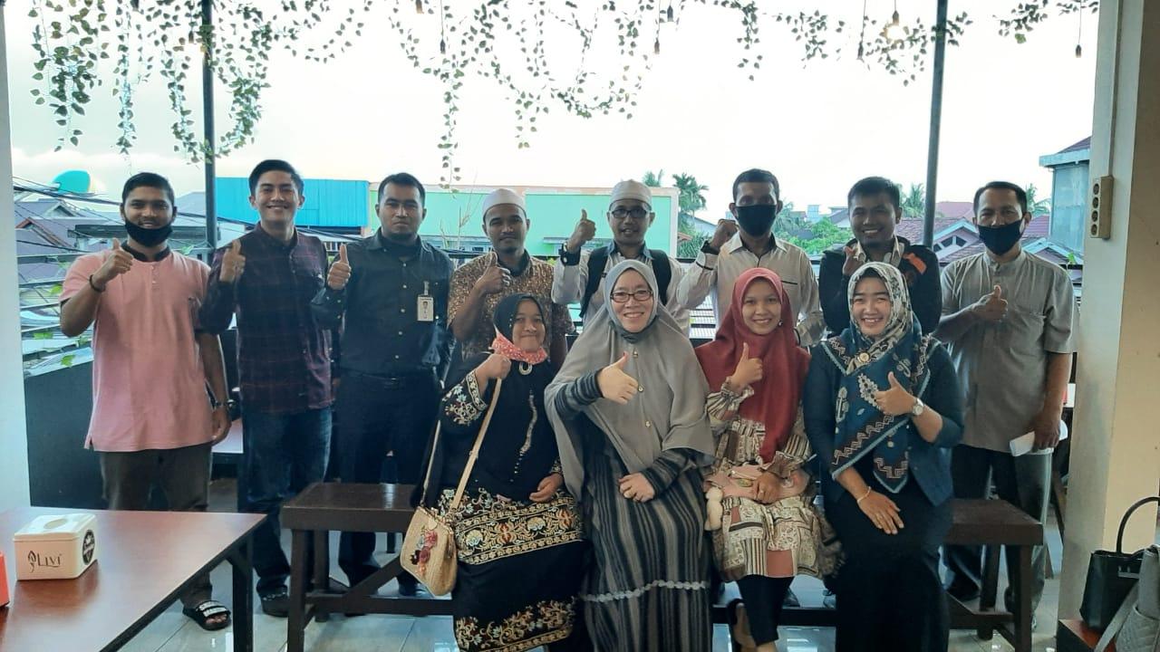 Bahas Tempat Sekretariat dan Pengukuhan, YPMR Inhil Kembali Gelar Rapat