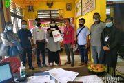 Penyaluran BLT di Desa Sialang Panjang
