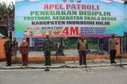 Apel Patroli Penegakkan Disiplin Protokol Kesehatan Skala Besar