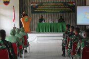 Dalam upaya meningkatkan pemahaman terhadap hukum, Kodam I/Bukit Barisan memberikan penyuluhan hukum kepada para prajurit di jajaran Kodim 0314/Inhil
