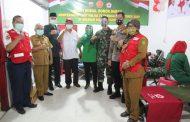 Di Moment HUT TNI dan PMI yang berbarengan ini, Kodim 0314/Inhil Gelar Baksos Donor Darah