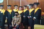 7 Pengawai Disdik Inhil Resmi Diwisuda Universitas Wijaya Putra Surabaya Secara Virtual