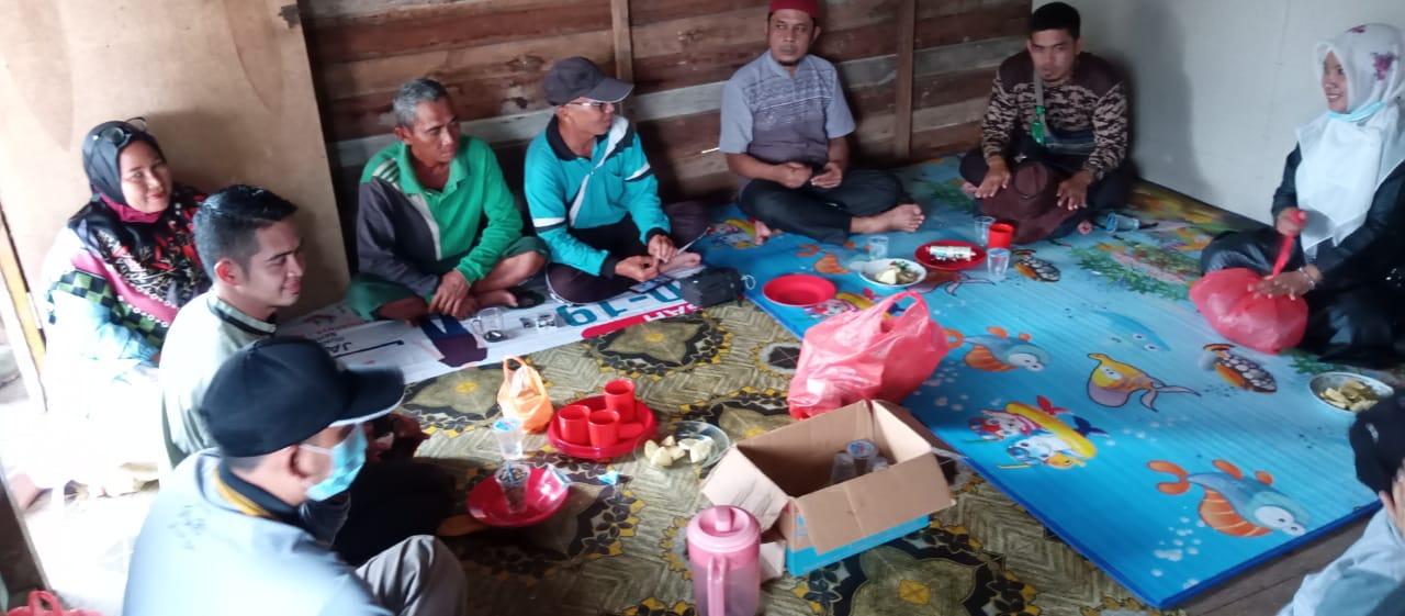 Demi Rumah Ibadah, PAH Tembilahan Rela Potong Gaji Untuk Bantu Buat Surau di eks Sungai Dugil
