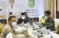 Ikuti Rapat Antisipasi Teror Bom Dengan Pemerintah Provinsi Riau, Wabup Inhil : Tingkat Kewaspadaan