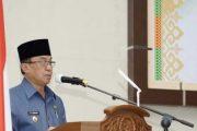 Ikuti Rapat Paripurna Ke-3 Masa Persidangan 1 Tahun Sidang 2021, Bupati HM.Wardan Sampaikan Pidato Pengantar LKPJ