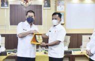 Wakil Bupati H.Syamsudin Uti Terima Kunjungan Wakil Bupati Kepulaun Meranti AKBP (Purn) H.Asmar