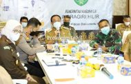 Ikuti Rapat Penanganan Covid-19 Pemprov Riau Secara Virtual, Bupati HM.Wardan Sampaikan Perkembangan Covid-19 Di Inhil