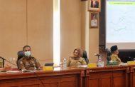 Pemkab Inhil Diwakil Sekda H Afrizal Hadiri Rapat Pembahasan Ranperda RTRW 2021-2041
