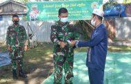 Keluarga besar Kodim 0314/lnhil melakukan pemotongan hewan Qurban sebanyak 3 (tiga) ekor Sapi dan 3 ekor kambing bertempat di saung Kodim 0314/lnhil
