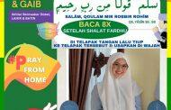 Kemenag Inhil Kampanyekan Pakai Masker Double Lahir dan Batin
