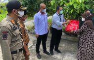 Bank Riau Kepri Bersama Polres Inhil Salurkan Bansos