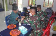 Serbuan Vaksin TNl terus di gulirkan oleh Kodim 0314/lnhil di wilayah Kabupaten lnhil