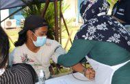 Perdana di Inhil PT Sambu Grub Laksanakan Vaksinasi Gotong Royong