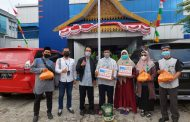 BRI Gadeng PAI Tembilahan Salurkan Sembako Bagi Warga Terdampak Covid-19