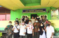 Kunker di Inhil Bagian Utara, Kadisdik dan MKKS SMP Rayon IV Gelar Silaturahmi
