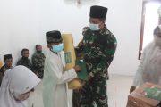 Dalam Peringatan maulid Nabi Muhammad SAW  1443 H,Dandim Berikan Tali Asih Kepada Putra Putri Prajurit Berprestasi