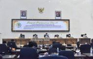 Rapat Paripurna Pengesahan APBD Perubahan TA 2021.