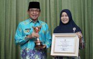 Bupati Terima Penghargaan Anugerah APE Tingkat Pratama